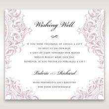 Jewelled Elegance wishing well card DW11591