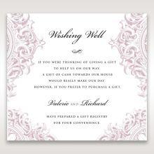 Jewelled Elegance wishing well card DW11591