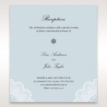 Laser Cut Love reception card DC14130