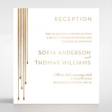 Luxe Intrigue reception card DC116087-GW-MG