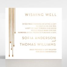 Luxe Intrigue wishing well card DW116087-GW-MG
