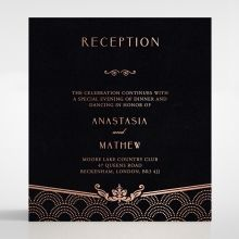 Luxe Victorian reception card DC116074-GK-RG