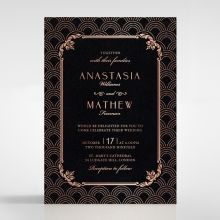 Luxe Victorian wedding invitations FWI116074-GK-RG