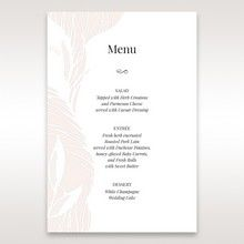 Orange Mystic Forest - Menu Cards - Wedding Stationery - 76