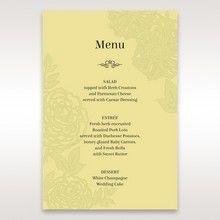 Green Magical Garden - Menu Cards - Wedding Stationery - 51