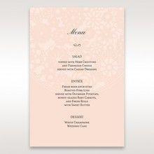Orange Pink Light Romance - Menu Cards - Wedding Stationery - 6