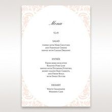 White Edge of Heaven - Menu Cards - Wedding Stationery - 10