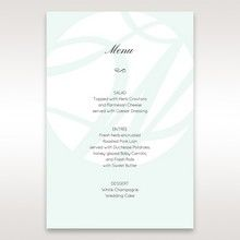 White Modern Marvel - Menu Cards - Wedding Stationery - 26