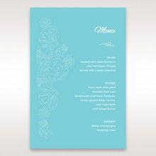 Green Ocean Frame I Laser Cut - Menu Cards - Wedding Stationery - 31