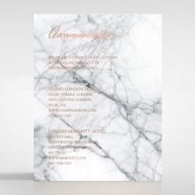 Marble Minimalist accommodation card DA116115-KI-RG