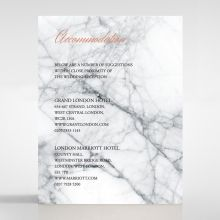 Marble Minimalist accommodation card DA116115-PK
