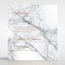 Marble Minimalist reception card DC116115-KI-RG