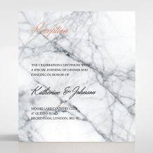 Marble Minimalist reception card DC116115-PK