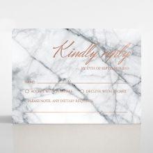 Marble Minimalist rsvp card DV116115-KI-RG
