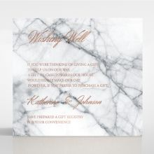 Marble Minimalist wishing well card DW116115-KI-RG