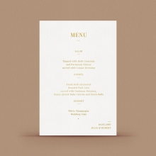 Rustic Lustre (Copy) - Menu Cards - DM116092-GW-GG-1 - 183404