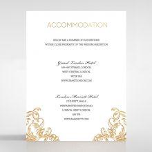 Modern Crest accommodation card DA116122-KI-GG
