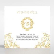 Modern Crest wishing well card DW116122-DG