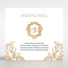 Modern Crest wishing well card DW116122-KI-GG