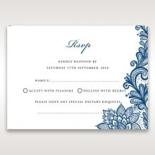 Noble Elegance rsvp card DV11014