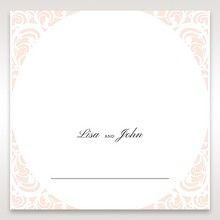 White Edge of Heaven - Place Cards - Wedding Stationery - 24