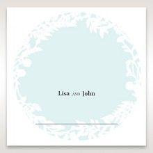 White Enchanted Forest II Laser Cut P - Place Cards - Wedding Stationery - 31