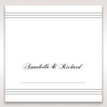 White Modern Pocket-Grey - Place Cards - Wedding Stationery - 94