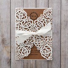 Brown Countryside Chic - Wedding invitation - 45