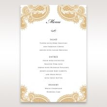 Prosperous Golden Pocket menu card DM11045