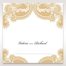 Prosperous Golden Pocket place card DP11045