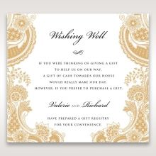 Prosperous Golden Pocket wishing well card DW11045
