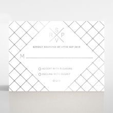 Quilted Grace rsvp card DV116095-GK-GS