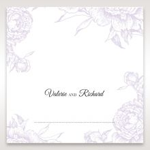 Romantic Rose Pocket place card DP11049