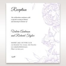 Romantic Rose Pocket reception card DC11049