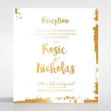 Rusted Charm reception card DC116082-GW-GG