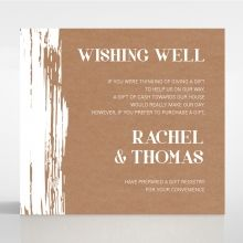Rustic Brush Stroke wishing well card DW116129-TR