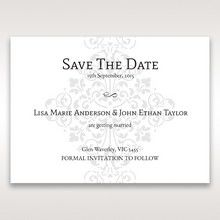 Black A Night at the Opera - Save the Date - Wedding Stationery - 64