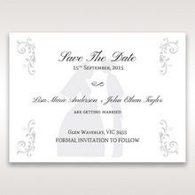 White Promise - Save the Date - Wedding Stationery - 35