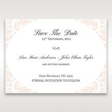 White Edge of Heaven - Save the Date - Wedding Stationery - 38