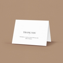 Rustic Lustre (Copy) without foil - Thank You Cards - DY116092-GW-GG-2 - 183618