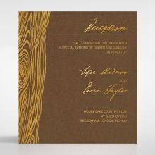 Timber Imprint reception card DC116093-NC-GG