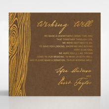Timber Imprint wishing well card DW116093-NC-GG
