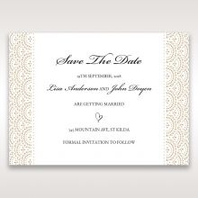 Vintage Lace Frame save the date DS15040