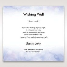 Purple Lasercut pocket with Love Birds - Wishing Well / Gift Registry - Wedding Stationery - 91