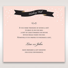 ... Gold Dots - Wishing Well / Gift Registry - Wedding Stationery - 18