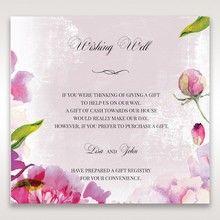 Purple Laser Cut Forest 3D Pocket - Wishing Well / Gift Registry - Wedding Stationery - 54
