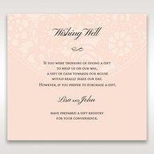 Orange Pink Light Romance - Wishing Well / Gift Registry - Wedding Stationery - 85