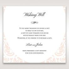White Edge of Heaven - Wishing Well / Gift Registry - Wedding Stationery - 89