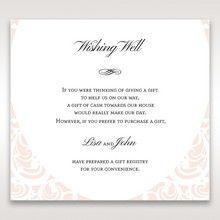 White Edge of Heaven - Wishing Well / Gift Registry - Wedding Stationery - 89