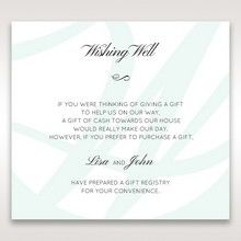 White Modern Marvel - Wishing Well / Gift Registry - Wedding Stationery - 56